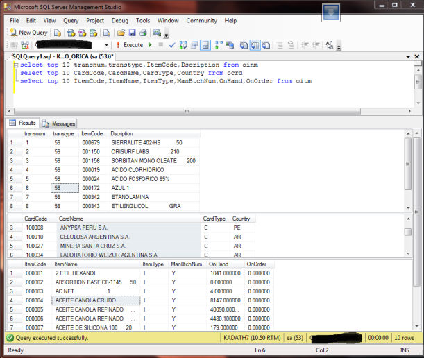 SQL Managemnt Studio , Multiple=