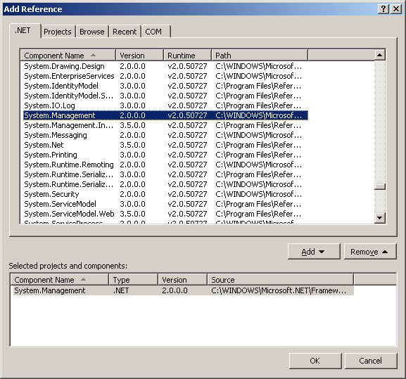 Accesing the WMI from Object Pascal Code (Delphi, Oxygene
