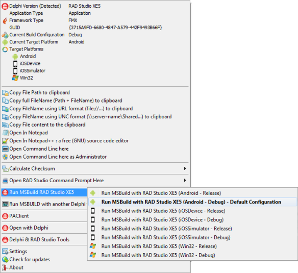 Delphi Dev  Shell Tools – New features 3 | The Road to Delphi