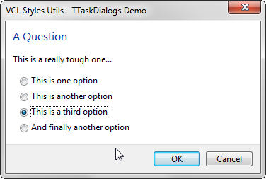 2014-10-09 09_48_19-VCL Styles Utils - TTaskDialogs Demo