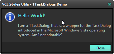 2014-10-09 09_52_55-VCL Styles Utils - TTaskDialogs Demo