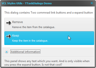 2014-10-09 09_56_04-VCL Styles Utils - TTaskDialogs Demo