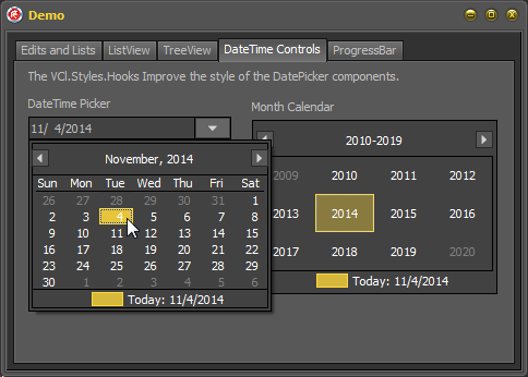 2014-11-04 11_54_31-Demo - Embarcadero RAD Studio XE2 - Vcl.Styles.Hooks [Running] [Built]