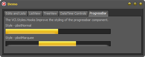 VCL Styles Utils – Major Update (Dialogs, ProgressBar