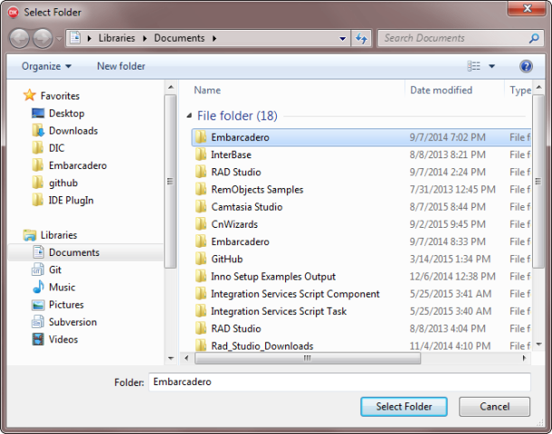 SelectFolder10Native