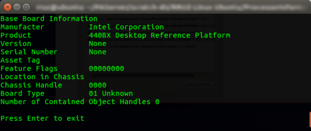 rruz@ubuntu^% ~-PAServer-scratch-dir-RRUZ-Linux Ubuntu-ProcessorInformation_003